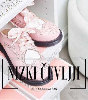 ženski nizki elegantni čevlji